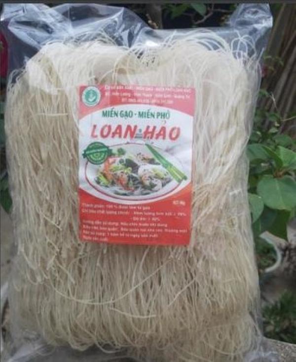 Miến gạo - Miến phở